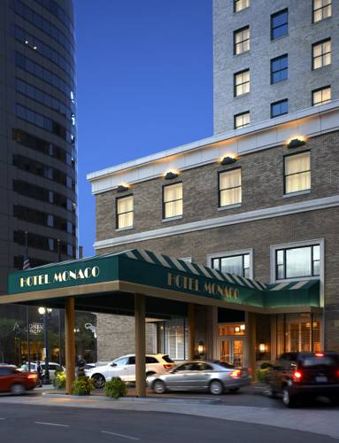 Hotel Monaco Salt Lake City - Utah romantic getaways