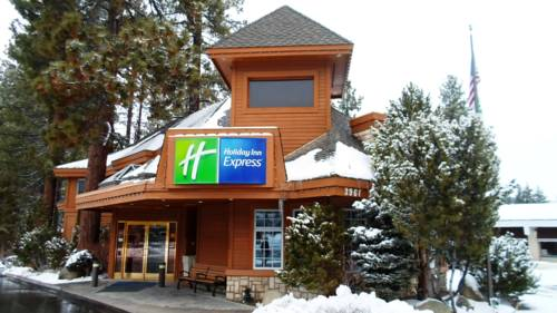 Located in South Lake Tahoe is the Holiday Inn Express SOUTH LAKE TAHOE
