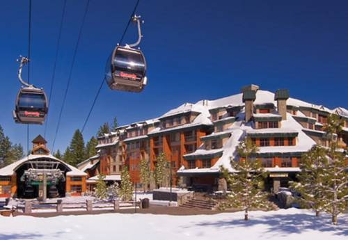 Located in South Lake Tahoe is the Marriott's Timber Lodge