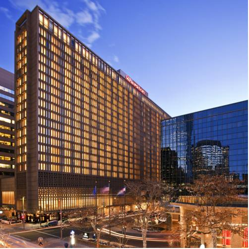 Sheraton Denver Downtown Hotel Denver Colorado Hotel