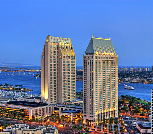 Grand Hyatt San Diego - California romantic getaways