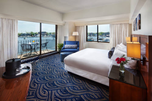 Marriott Annapolis Waterfront - Maryland romantic getaways
