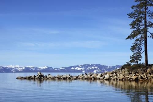 Located in Stateline is the Harrahs Lake Tahoe