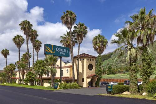 Quality Inn Fallbrook I 15 Fallbrook California Ca