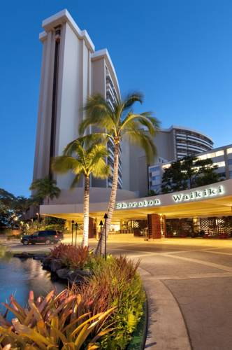Sheraton Waikiki Hotel - Hawaii romantic getaways