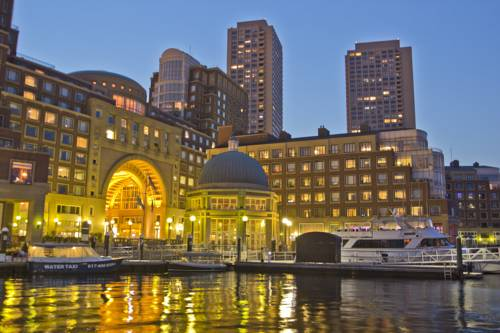 Boston Harbor Hotel - Massachusetts romantic getaways