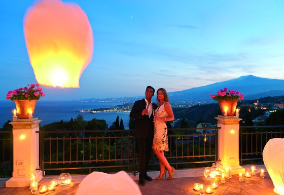Romantic events on our terrace