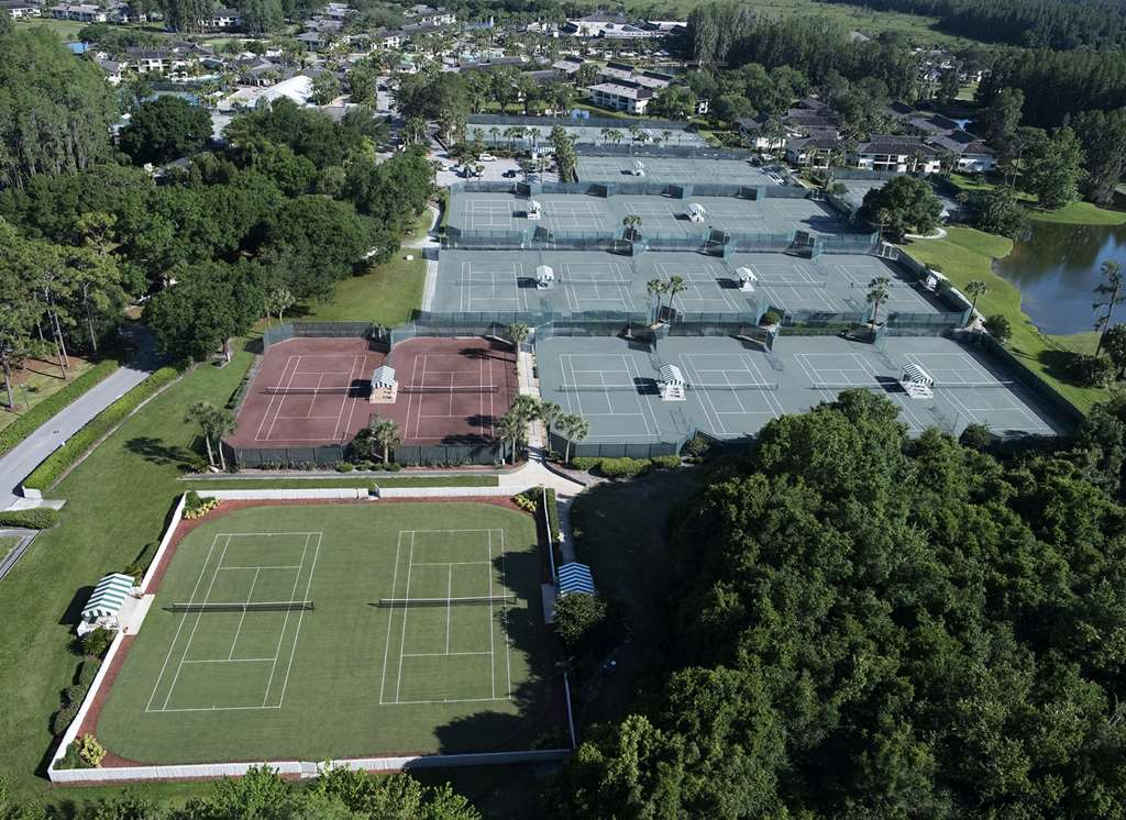 Tennis Courts Aerial