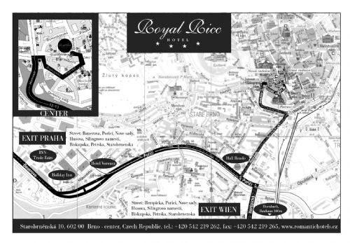 How to get to hotel Royal Ricc